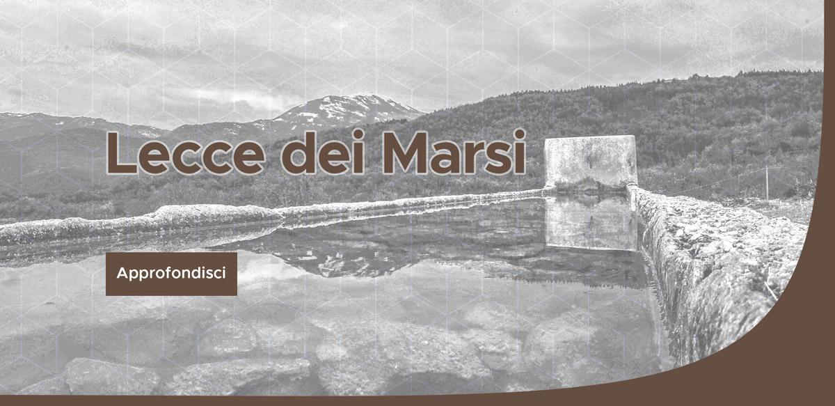 Lecce dei Marsi off